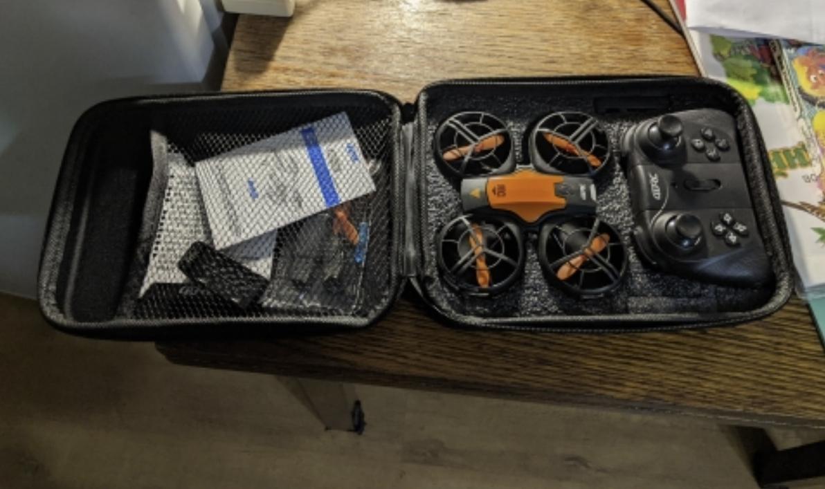 Компактный дрон с хорошей камерой